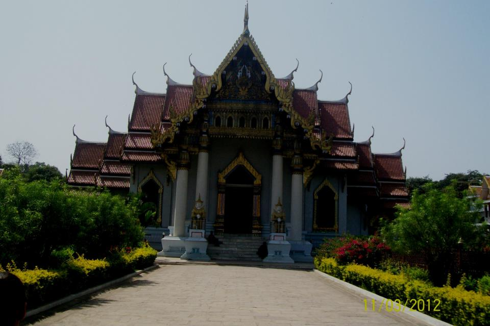 Thai Temple and Monastery at Bodh Gaya