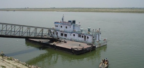Floating Restaurant in River Ganga at Patna