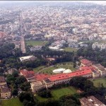 Aerial View of the Patna City