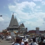 View of Mahavir Mandir Patna from Roadside