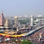 Crowd at Mahavir Mandir Patna during Ram Navmi
