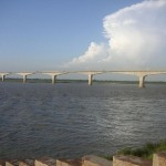 Vikramshila Bridge on River Ganga at Bhagalpur