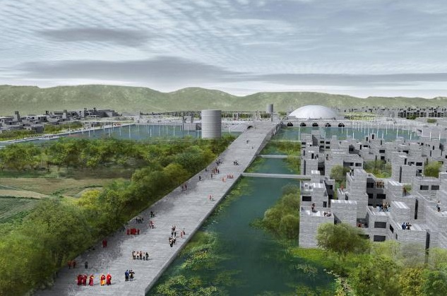 Proposed Campus of new Nalanda University