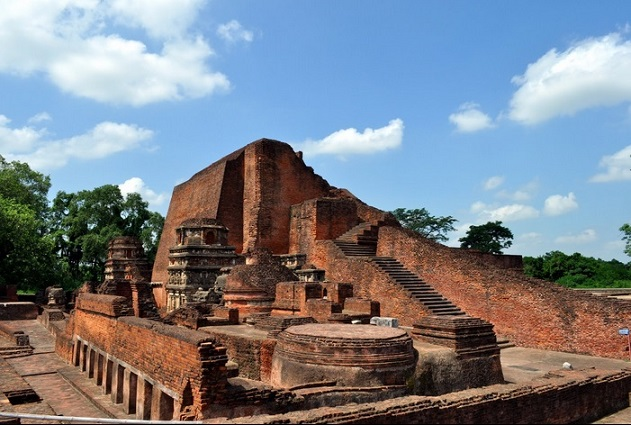 Remains of Ancient Nalanda University
