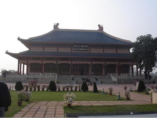 Hiuen Tsang Memorial Hall at Rajgir