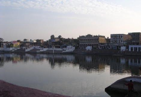 Houses around Shiv Ganga Deoghar